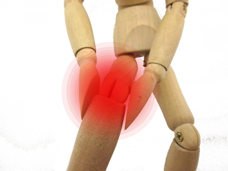 リウマチによる膝痛